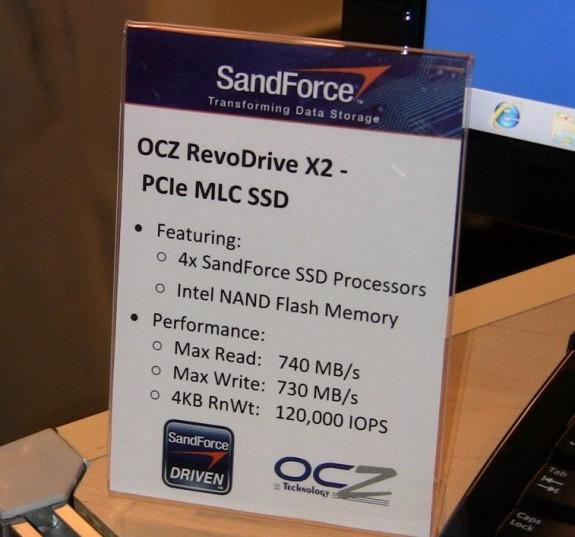 OCZ RevoDrive X2 SSD